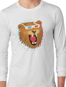 3D Lion Long Sleeve T-Shirt