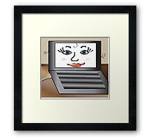 Stay Connected...... Framed Print