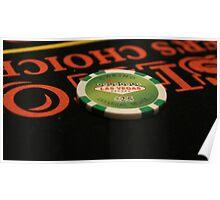 Poker Chip Poster