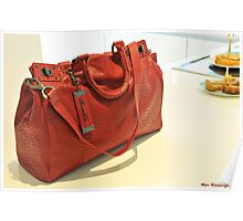 Red Snakeskin by Kenneth Cole New York  Poster