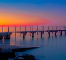 Quindalup Jetty 2 by mmphotographics