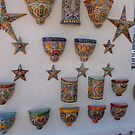 Colorful ceramics from Mexico 2 by nealbarnett