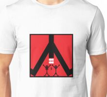 Dropping Bombs Icon Unisex T-Shirt