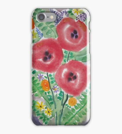 A bunch of flowers iPhone Case/Skin