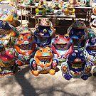 Colorful ceramics from Mexico 4 by nealbarnett