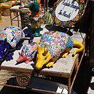 Colorful ceramics from Mexico 5 by nealbarnett