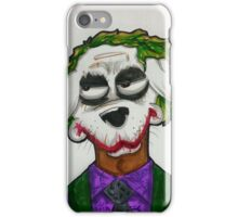 The Joker dog by WRTISTIK iPhone Case/Skin