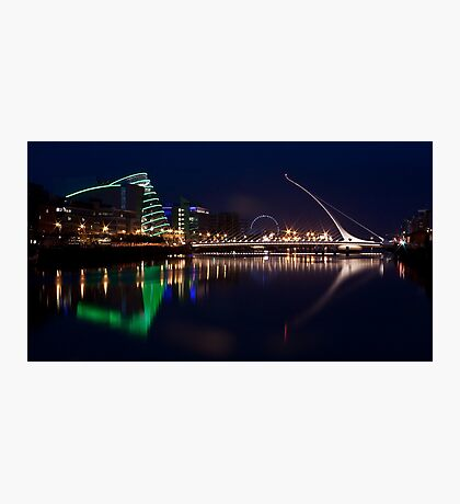 Dublin Liffey view Photographic Print