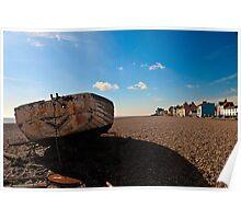 Aldeburgh Beach  Suffolk UK Poster