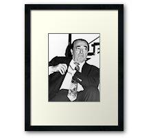 Robert Maxwell Framed Print