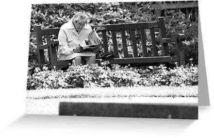 Peace in the park by Neil Clarke