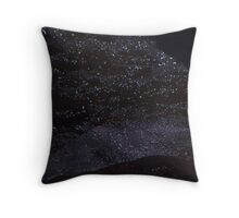 Landscape with Night Stars Throw Pillow