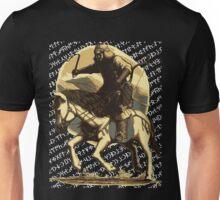 Bilge Kağanın Sözü / Atlı Asker / Kara Unisex T-Shirt