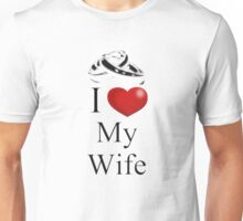 I Heart My Wife Unisex T-Shirt