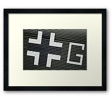 LUFTWAFFE WW2 Markings Framed Print