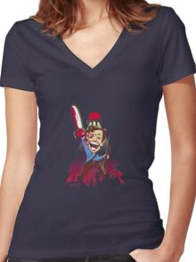 This is My Chainsaw Women's Fitted V-Neck T-Shirt