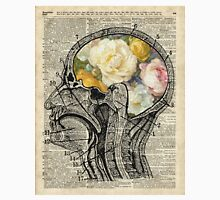 Brain full of flowers Dictionary Art Unisex T-Shirt