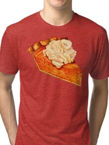 Pumpkin Pie Pattern Tri-blend T-Shirt