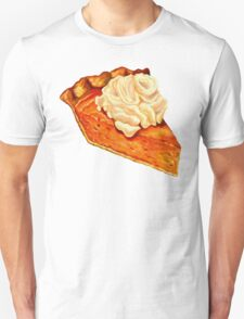 Pumpkin Pie Pattern Unisex T-Shirt