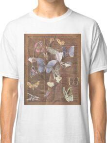 Butterflies on a tree Classic T-Shirt