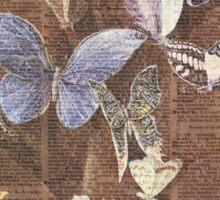Butterflies on a tree Sticker
