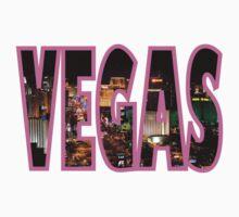 Las Vegas - Pink One Piece - Short Sleeve
