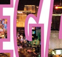 Las Vegas - Pink Sticker
