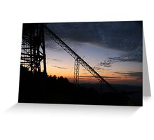 Queensland sunset Greeting Card