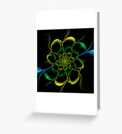 Shadow Bloom Greeting Card