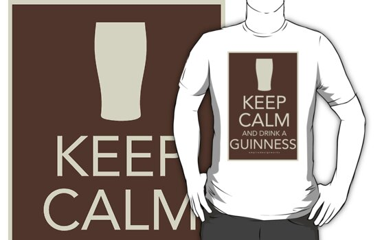 Keep Calm and Drink a Guinness T-Shirts & Hoodies by tkeenan