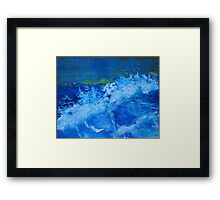Big Waves Framed Print
