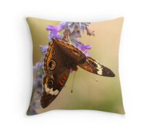 Depth of Focus (Wings) Throw Pillow