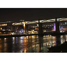 Tyne bridges Photographic Print