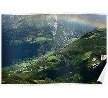 Austrian Rainbow Poster