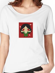 Tiny Flamenco Dancer Women's Relaxed Fit T-Shirt