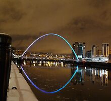 Millenium Bridge Newcastle by Iceangel