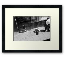 LONDON: VIEWS FROM THE TOP DECK PT 4 'PUPPY POWER' Framed Print