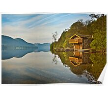 Calm morning at Ullswater Poster