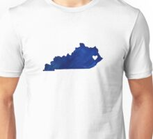 Blue Kentucky Unisex T-Shirt