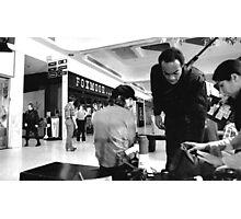 Actors Between Shots Photographic Print