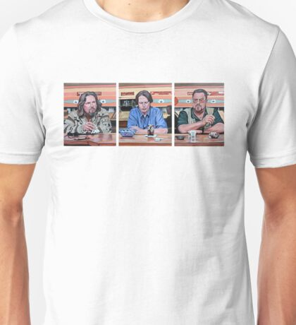 Lebowski Triptych Unisex T-Shirt