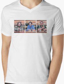 Lebowski Triptych Mens V-Neck T-Shirt