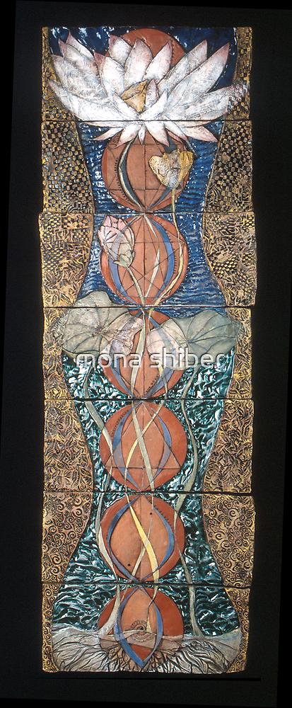 Lotus III: caduceus rising by Mona Shiber