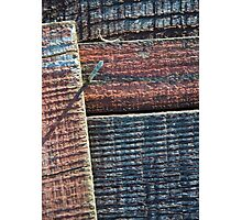 Wooden Weave Photographic Print