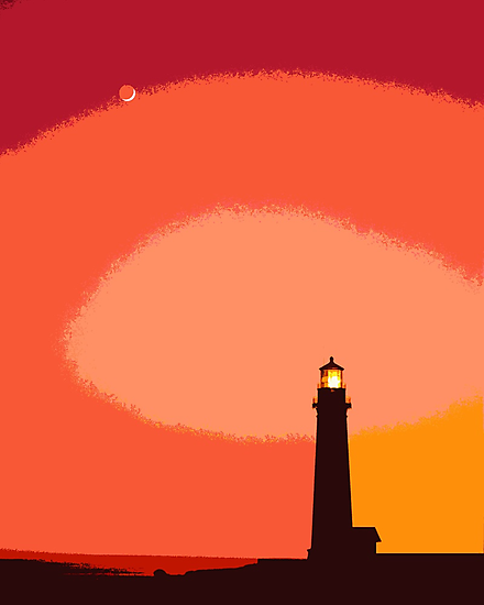 The Lighthouse by Omar Dakhane