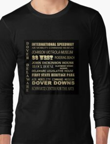 Dover Delaware Famous Landmarks Long Sleeve T-Shirt