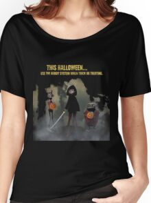 halloween tips from hotel transyvania 2 Women's Relaxed Fit T-Shirt