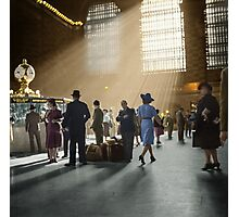 1941 Grand Central Terminal, New York City Photographic Print