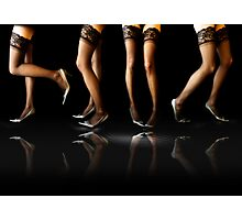 Great legs!! Photographic Print