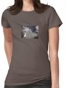Through the Storm Dragon Womens Fitted T-Shirt
